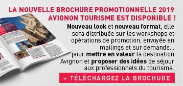 Télécharger la brochure promotionnelle AVIGNON TOURISME 2019