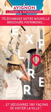 Téléchargeez la nouvelle brochure patrimoine d'AVIGNON